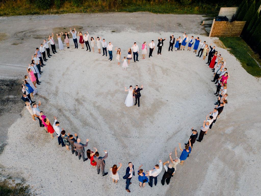 wesele w Rezydencji Sulisławice, fotograf na ślub tarnobrzeg, fotografia ślubna z drona