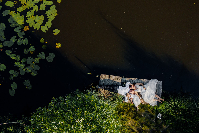 fotograf ślubny rzeszów, zdjęcie z drona